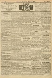 Nowa Reforma (numer poranny). 1907, nr216