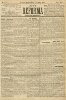Nowa Reforma (numer popołudniowy). 1907, nr217