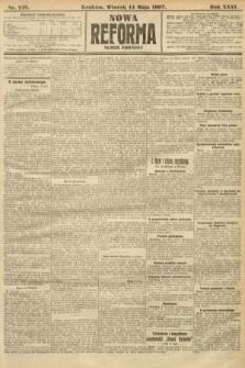 Nowa Reforma (numer poranny). 1907, nr218