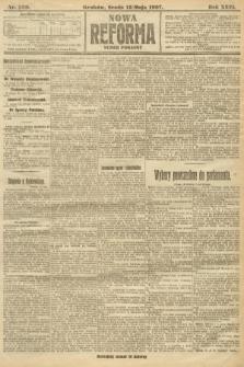 Nowa Reforma (numer poranny). 1907, nr220
