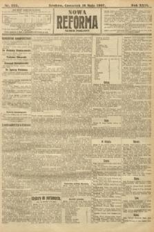 Nowa Reforma (numer poranny). 1907, nr222