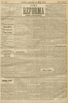 Nowa Reforma (numer popołudniowy). 1907, nr223