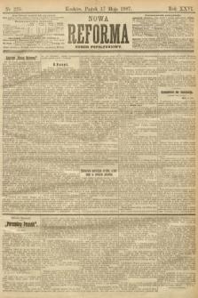 Nowa Reforma (numer popołudniowy). 1907, nr225