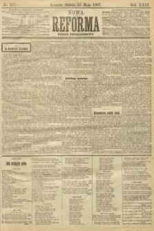 Nowa Reforma (numer popołudniowy). 1907, nr227