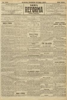 Nowa Reforma (numer poranny). 1907, nr228