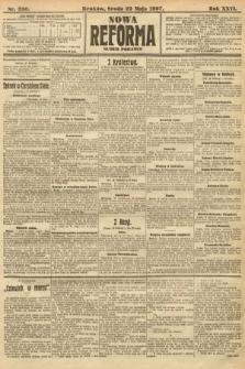 Nowa Reforma (numer poranny). 1907, nr230