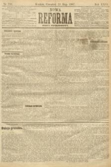 Nowa Reforma (numer popołudniowy). 1907, nr233