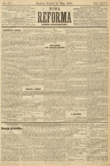 Nowa Reforma (numer popołudniowy). 1907, nr235