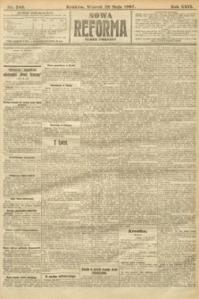 Nowa Reforma (numer poranny). 1907, nr240