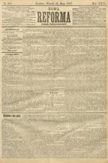 Nowa Reforma (numer popołudniowy). 1907, nr241