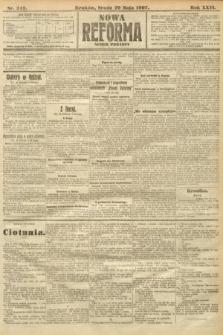 Nowa Reforma (numer poranny). 1907, nr242