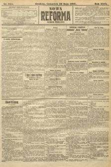 Nowa Reforma (numer poranny). 1907, nr244