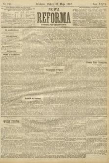 Nowa Reforma (numer popołudniowy). 1907, nr245