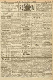Nowa Reforma (numer poranny). 1907, nr246