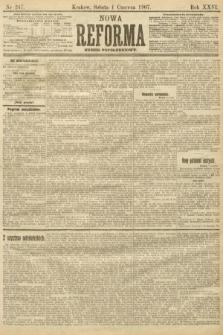 Nowa Reforma (numer popołudniowy). 1907, nr247