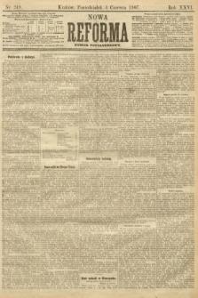 Nowa Reforma (numer popołudniowy). 1907, nr249