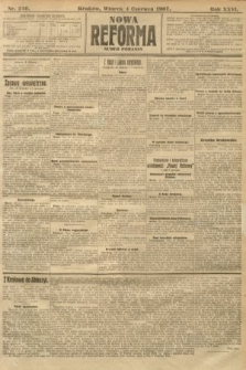 Nowa Reforma (numer poranny). 1907, nr250