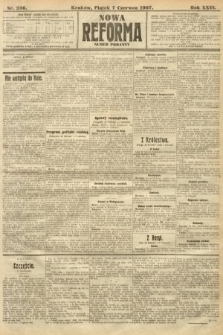Nowa Reforma (numer poranny). 1907, nr256