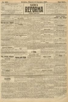 Nowa Reforma (numer poranny). 1907, nr262