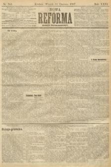 Nowa Reforma (numer popołudniowy). 1907, nr263
