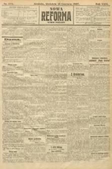 Nowa Reforma (numer poranny). 1907, nr272