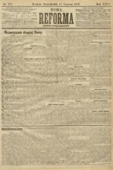 Nowa Reforma (numer popołudniowy). 1907, nr273