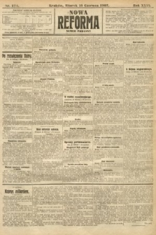 Nowa Reforma (numer poranny). 1907, nr274