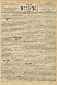 Nowa Reforma (numer poranny). 1907, nr278