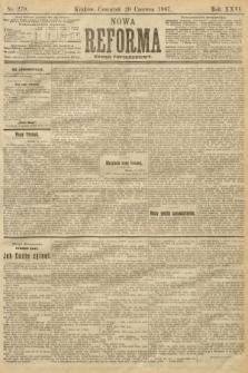 Nowa Reforma (numer popołudniowy). 1907, nr279