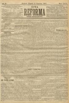 Nowa Reforma (numer popołudniowy). 1907, nr281