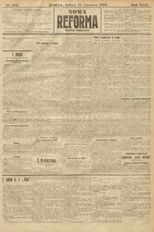 Nowa Reforma (numer poranny). 1907, nr282