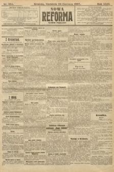 Nowa Reforma (numer poranny). 1907, nr284