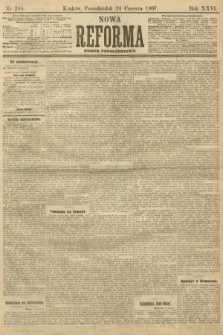 Nowa Reforma (numer popołudniowy). 1907, nr285