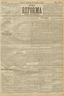 Nowa Reforma (numer popołudniowy). 1907, nr287