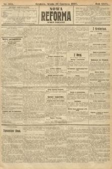 Nowa Reforma (numer poranny). 1907, nr288