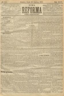 Nowa Reforma (numer popołudniowy). 1907, nr289