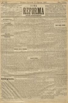 Nowa Reforma (numer popołudniowy). 1907, nr291