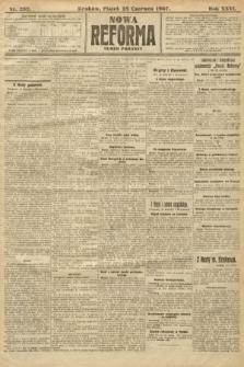 Nowa Reforma (numer poranny). 1907, nr292