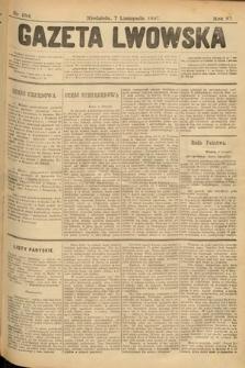 Gazeta Lwowska. 1897, nr 254