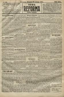 Nowa Reforma (numer poranny). 1911, nr95