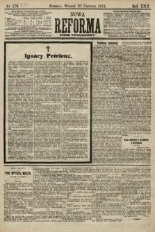 Nowa Reforma (numer popołudniowy). 1911, nr277