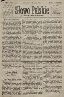 Słowo Polskie (wydanie popołudniowe). 1902, nr92