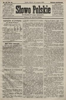 Słowo Polskie (wydanie popołudniowe). 1902, nr414