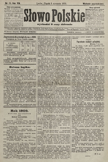 Słowo Polskie (wydanie popołudniowe). 1903, nr13