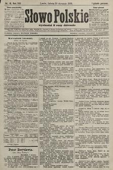 Słowo Polskie (wydanie poranne). 1903, nr16
