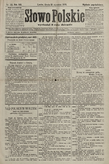 Słowo Polskie (wydanie popołudniowe). 1903, nr33