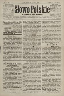 Słowo Polskie (wydanie popołudniowe). 1903, nr45