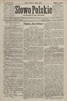 Słowo Polskie (wydanie poranne). 1903, nr63