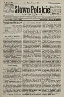 Słowo Polskie (wydanie popołudniowe). 1903, nr84