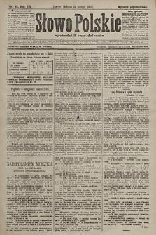 Słowo Polskie (wydanie popołudniowe). 1903, nr86